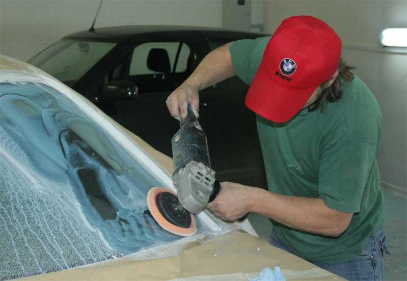 Как сделать полироль для авто своими руками