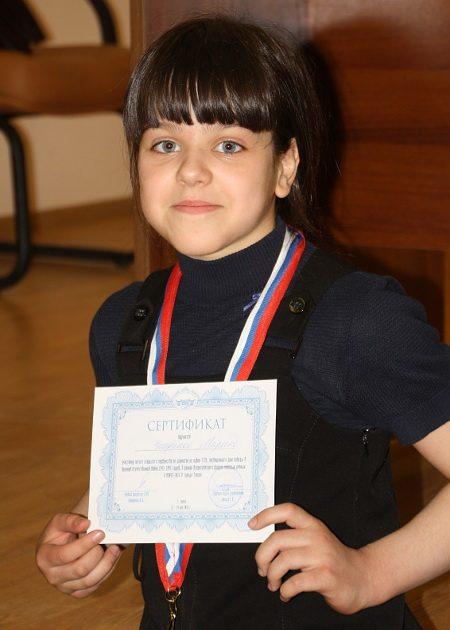 В рамках третьего форума молодых ученых U-NOVUS в 2016 году проходил шахматный турнир для детей. Марина Чиндина заняла почетное третье место