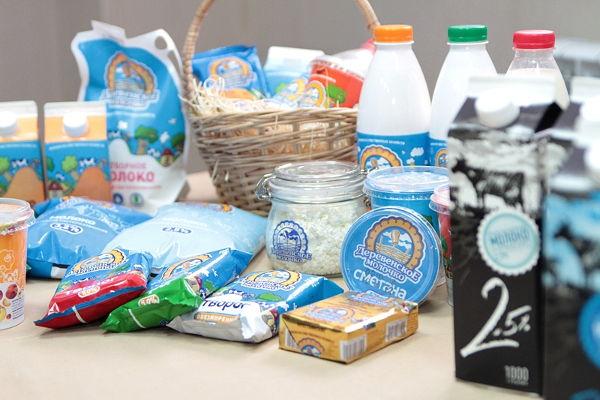 товары деревенское молочко