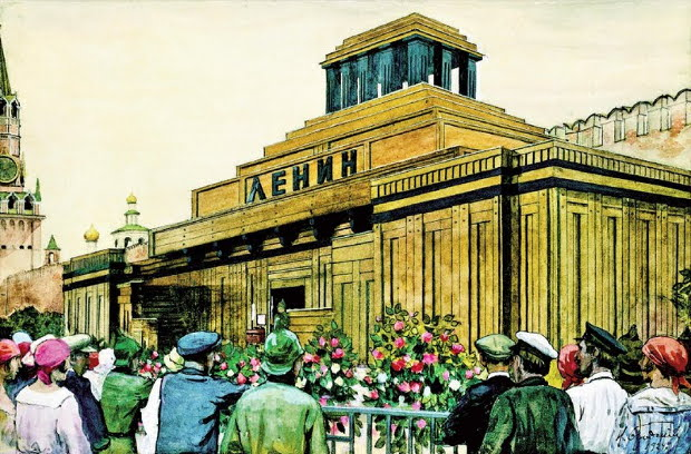 lenin_mausoleum_by_isaak_brodsky_-1924