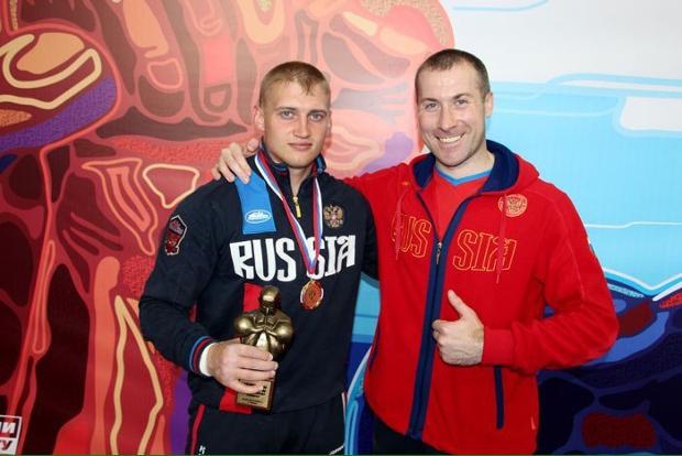 Валентин Сутягин и Владимир Полянский