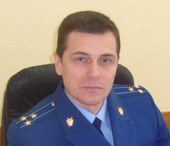 Олег Фрикель, прокурор Советского района Томска, старший советник юстиции