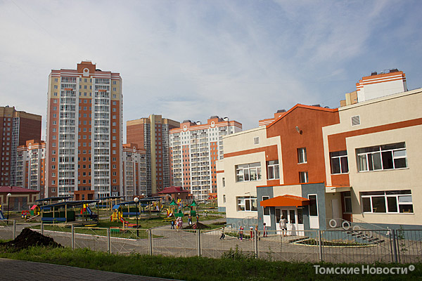 Строительство микрорайона Подсолнухи подходит к завершению. Район получился столичного типа, солидный, масштабный