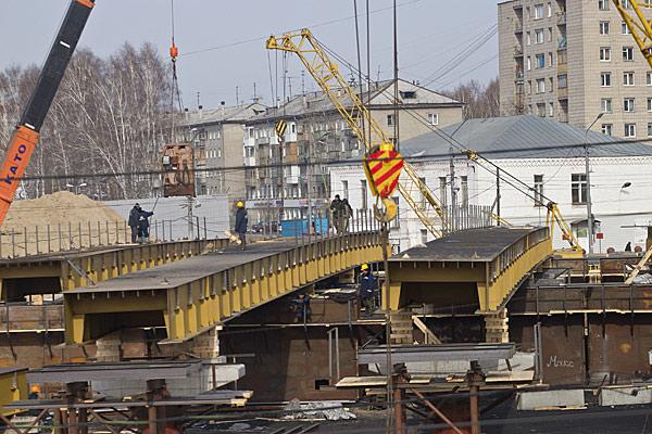 Строительство развязки на ул. Пушкина в Томске идет рекордными темпами: работы начались в прошлом году и уже этой осенью будут закончены