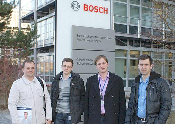 В декабре 2011-го северские разработчики побывали в штаб-квартире Bosch в Штутгарте