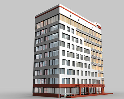 Эскизный проект центра инноваций ТДСК в ОЭЗ «Томск»