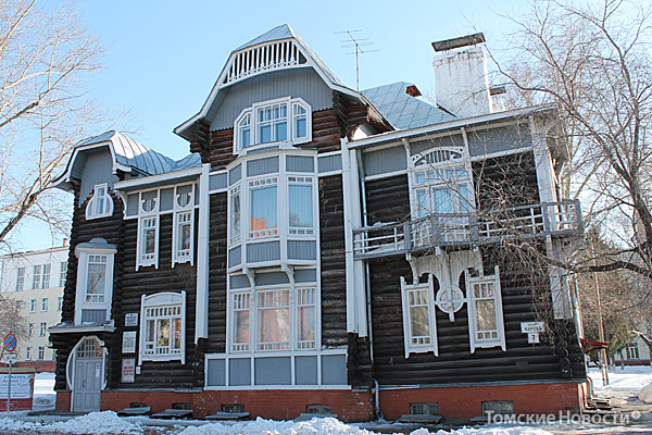 Дом Крячкова. Модерн (пр. Кирова,7)