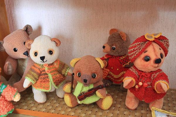 Медведи ездили на выставку в Москву