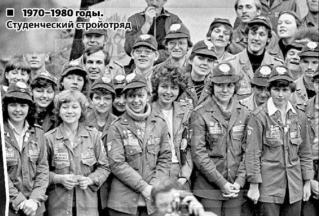 Томские студенты 20 века