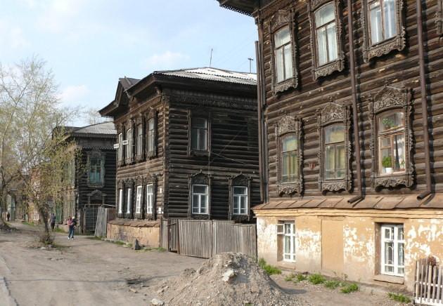 Строчка домов