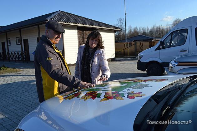 Любопытная жительница СПБ Ольга  интересуется автопробегом