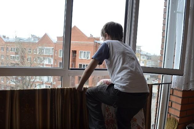 окно ребёнок