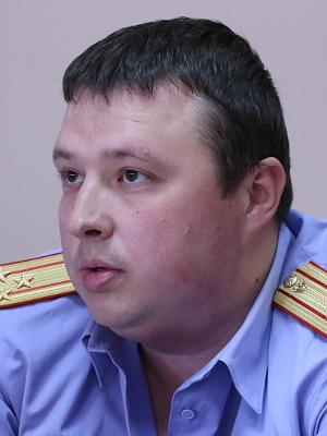 Руководитель отдела о расследовнию особо важных дел Марк Харламов, полковник юстиции