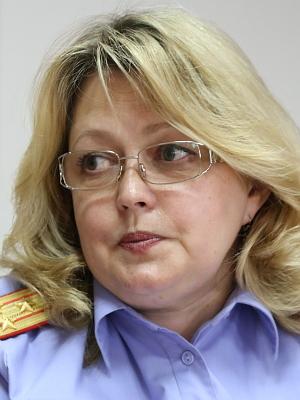 Руководитель пресс-службы Елена Лебедева, полковник юстиции