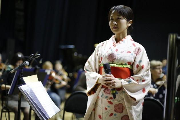 Для участия в концерте в Томск приехала известная японская певица и драматическая актриса Сатоко Ота
