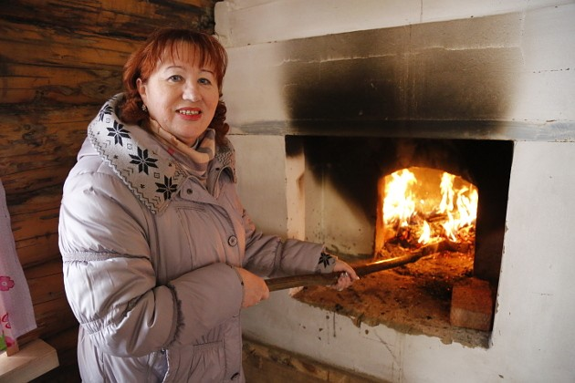 Живой огонь в умелых руках Татьяны Нестеровой