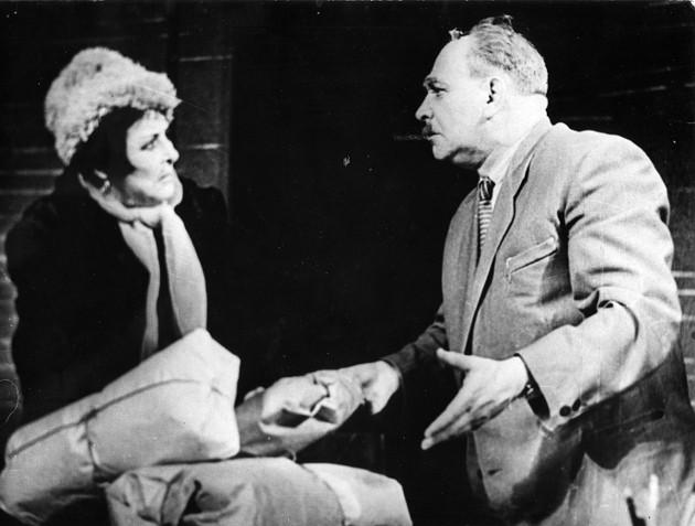 Сцена из спектакля «Кто смеется последним» белорусского театра