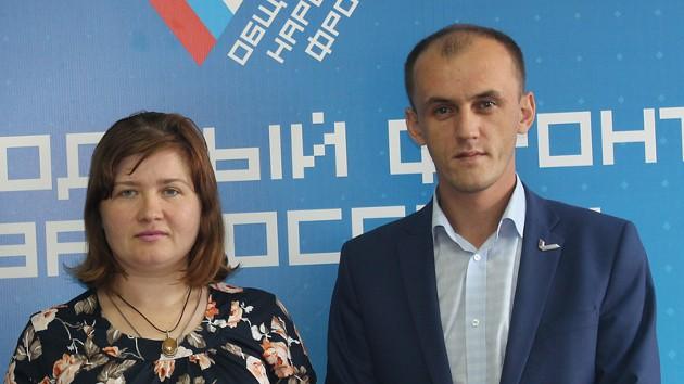 Активист ОНФ Михаил Ефимов помогает Олесе Егоровой в борьбе с бюрократией