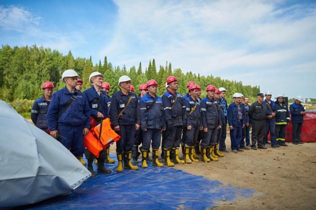 Все аварийно-спасательные формирования показали высокий профессионализм