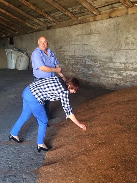 Семена льна пока хранятся на зерноскладе. Тех, кто им заинтересуется, сегодня на рынке достаточно много