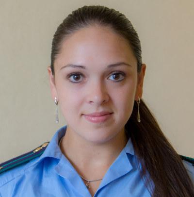 Милана Ваина, помощник прокурора Ленинского района Томска, юрист 3-го класса