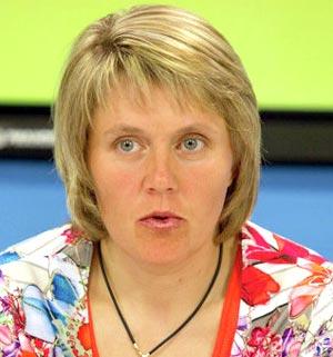 Наталья Баранова, заслуженный мастер спорта, олимпийская чемпионка по лыжным гонкам