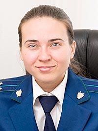 Елена Калинина, помощник томского межрайонного природоохранного прокурора